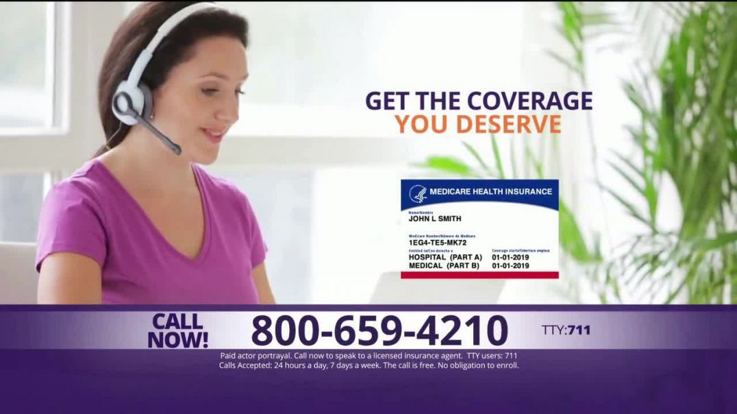 MedicareAdvantage.com TV Commercial Ad, Additional Benefits You Deserve