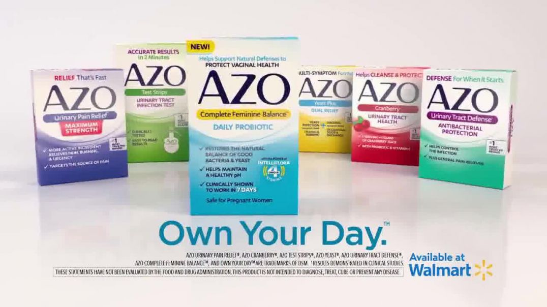 Azo Daily Probiotic TV Commercial Ad, Life Doesnt Pause.mp4
