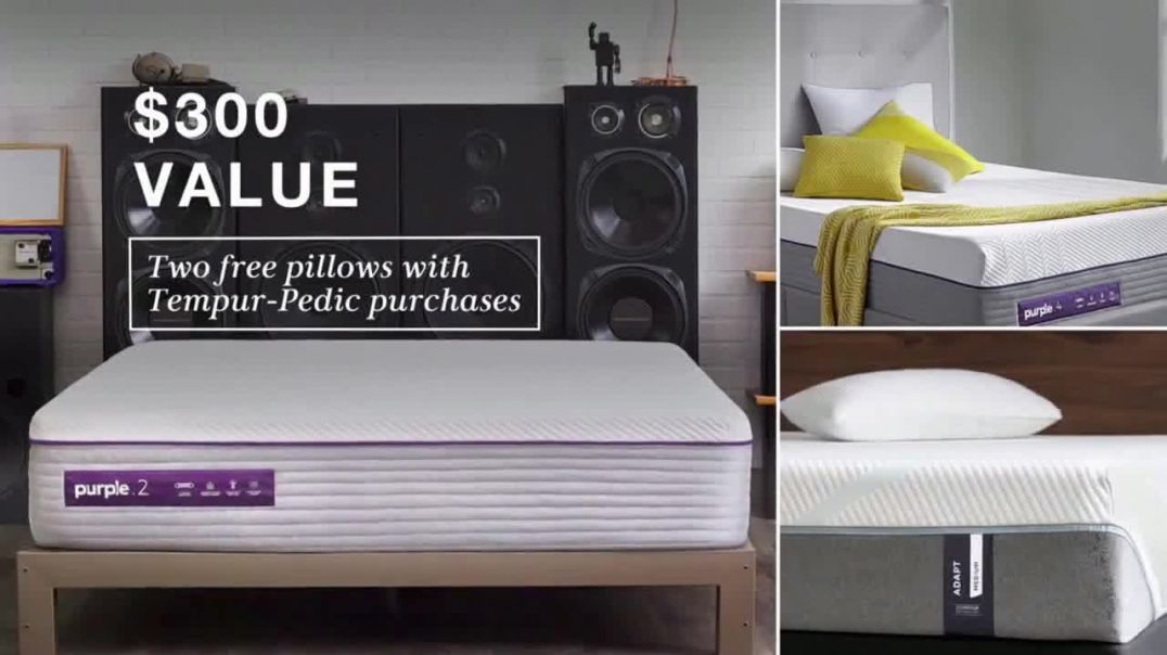 Macys Biggest Mattress Sale TV Commercial Ad, Free Box Spring and Pillows.mp4