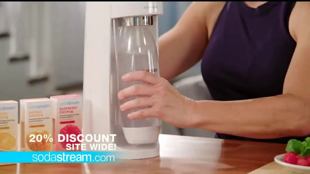 SodaStream TV Commercial Ad, New Year Hydration Bundle Featuring Jillian Michaels.mp4
