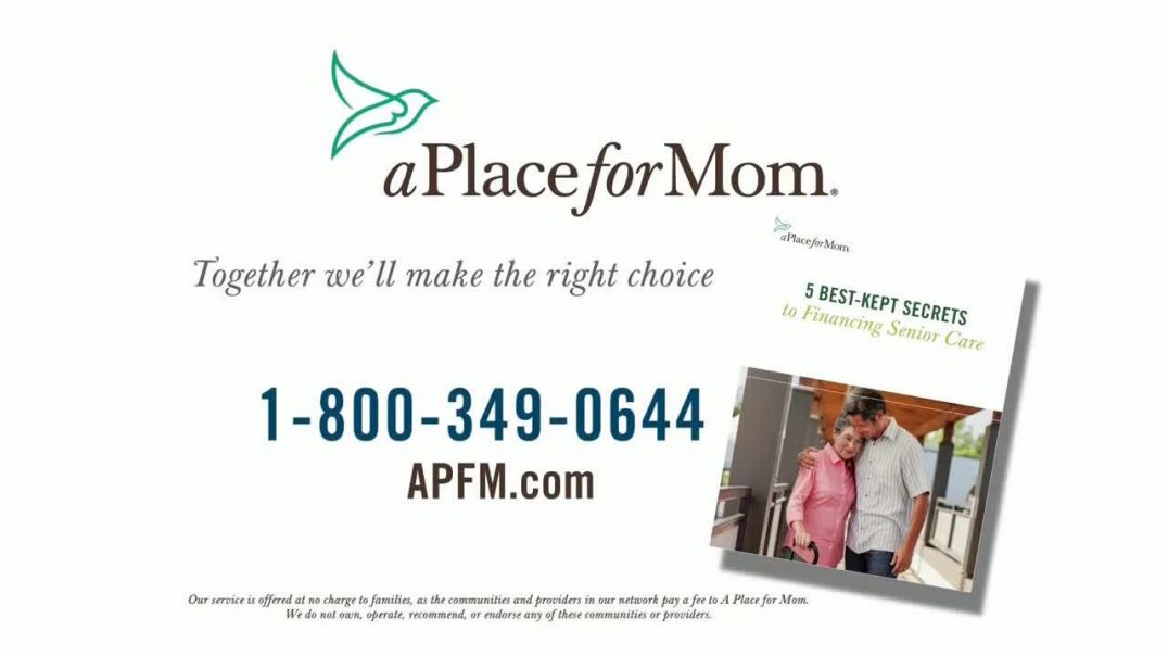 A Place For Mom TV Commercial Ad, Financing Senior Care.mp4