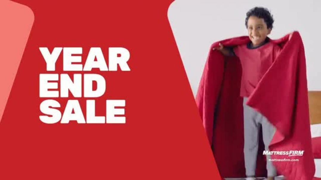 Mattress Firm Year End Sale TV Commercial Ad, Beautyrest and Adjustable Base.mp4