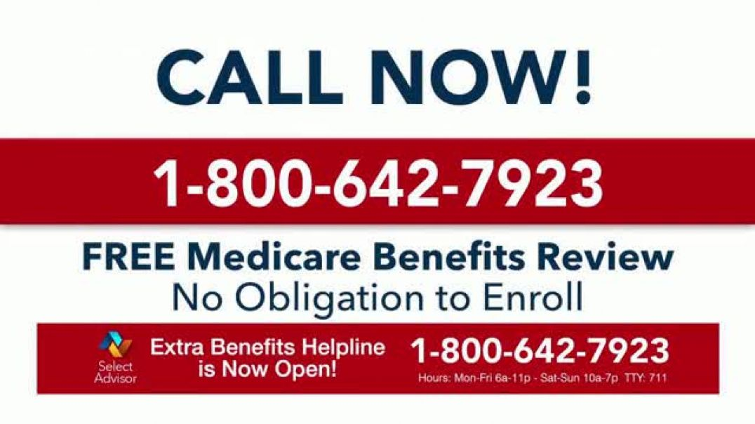 Select Advisor TV Commercial Ad, Medicare Benefits Review.mp4
