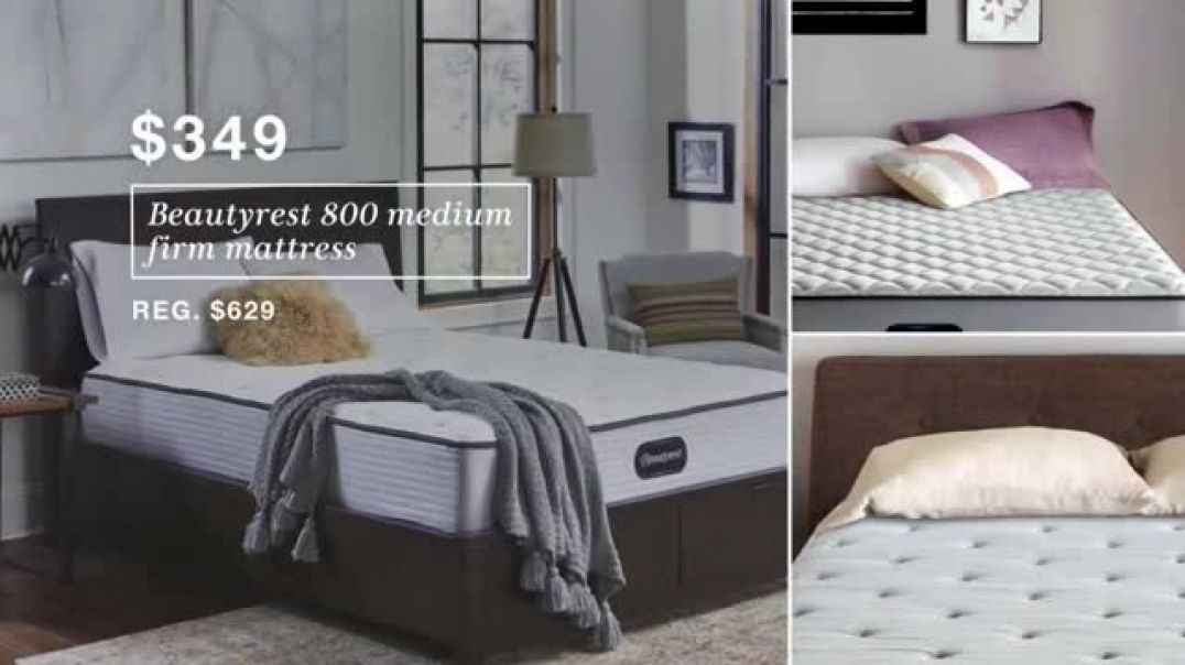 Macys Biggest Mattress Sale TV Commercial Ad, Free Box Spring and Discounted Beautyrest.mp4