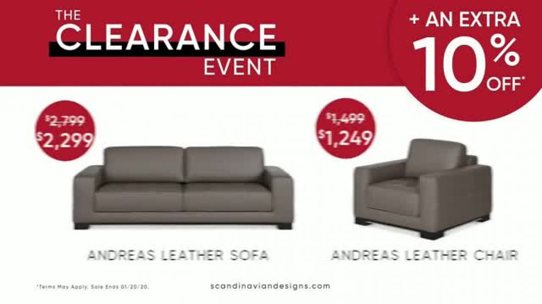 Scandinavian Designs The Clearance Event TV Commercial Ad, Say Goodbye.mp4
