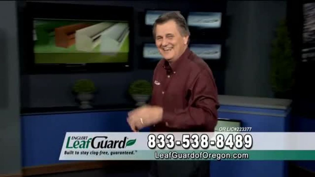 LeafGuard of Oregon 99 Cent Install Sale TV Commercial Ad, Costly Damage.mp4