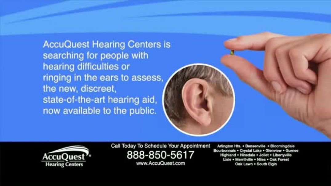 AccuQuest Hearing Centers TV Commercial Ad, 30 Day Assessment.mp4