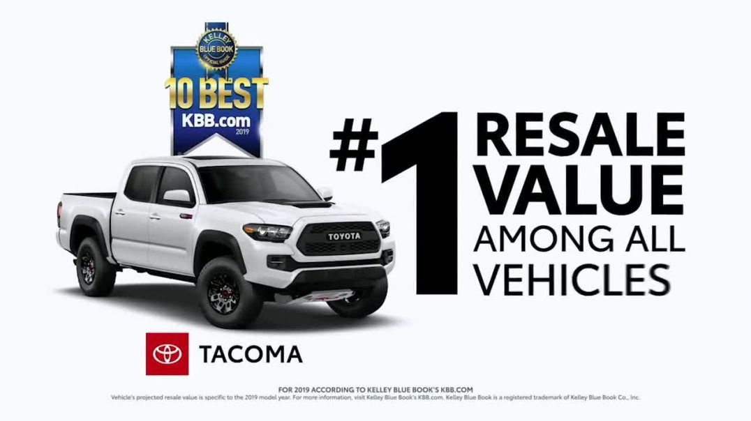 Toyota TV Commercial Ad, Time to Go Best Resale Value Trucks.mp4