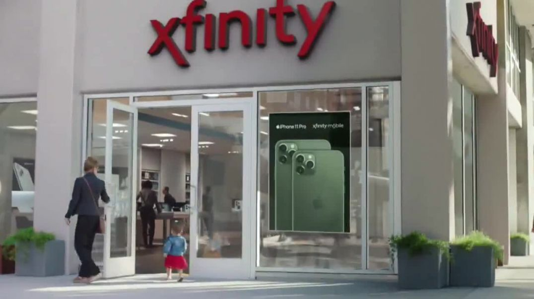XFINITY Mobile TV Commercial Ad, First Words $250 Off Song by Screamin Jay Hawkins.mp4