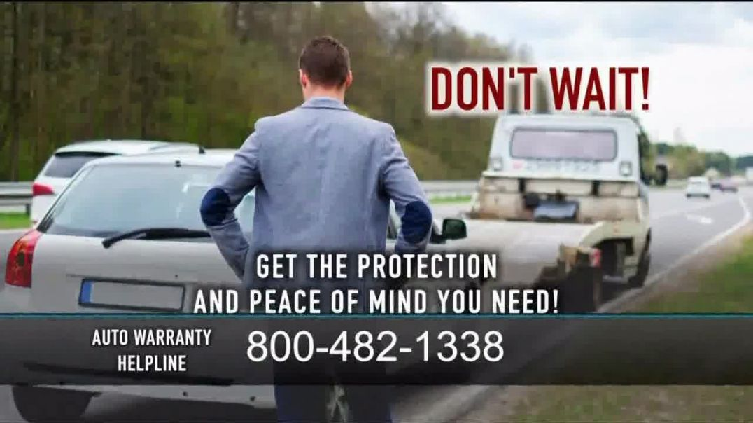 Auto Warranty Helpline TV Commercial Ad, Left Stranded.mp4