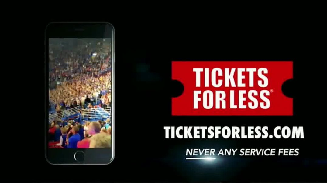 Tickets for Less LLC TV Commercial Ad, From the Front Row.mp4