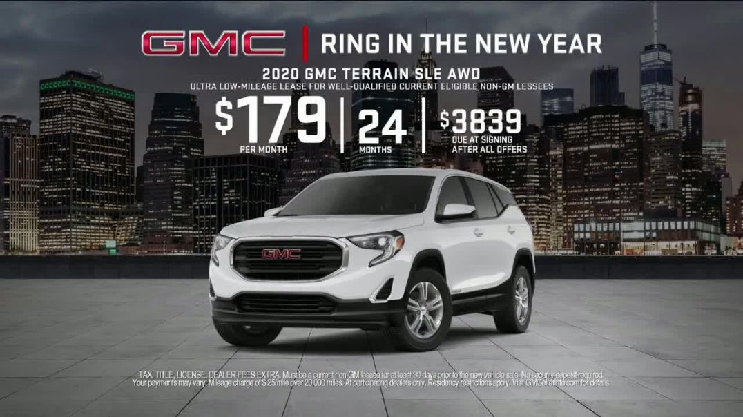 GMC Ring in the New Year TV Commercial Ad, Rule of Three.mp4
