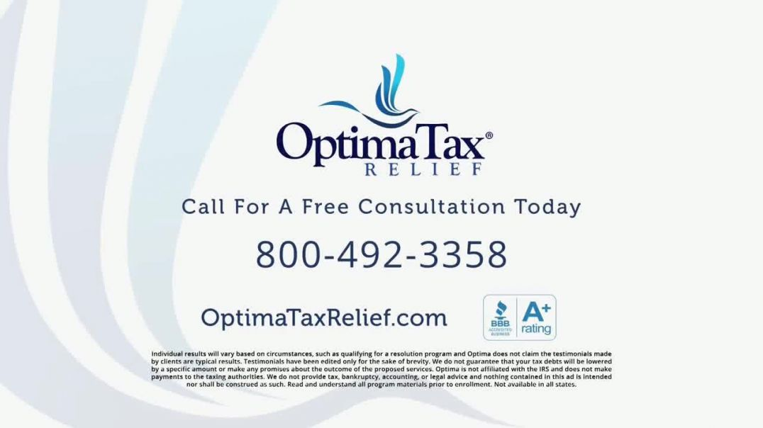 Optima Tax Relief TV Commercial Ad, Jacqueline Satisfied Customer.mp4