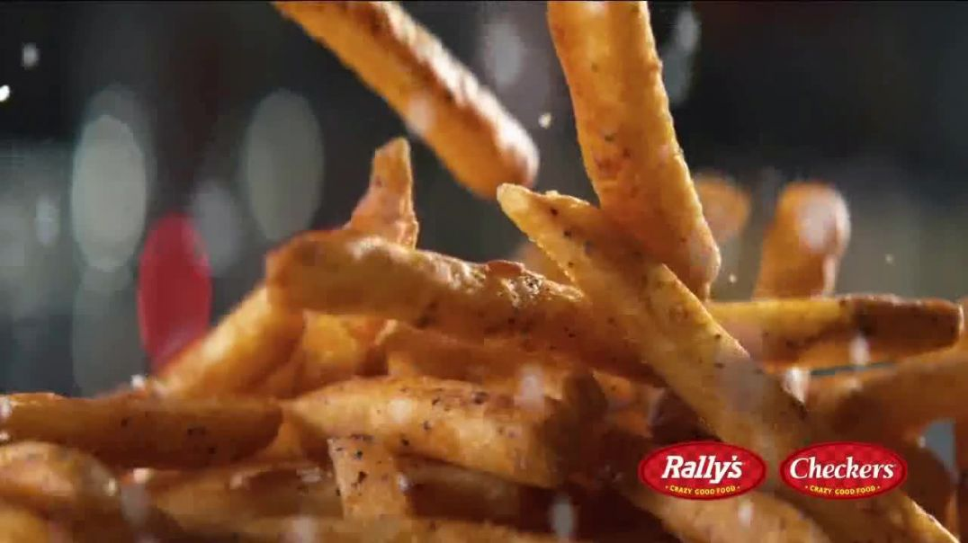 Checkers & Rallys $4 Pick 2 Meal Deal TV Commercial Ad, With Fries and a Drink.mp4