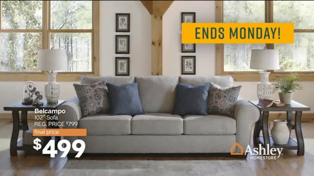 Ashley HomeStore Sale & Clearance Event TV Commercial Ad, Final Four Days Song by Midnig