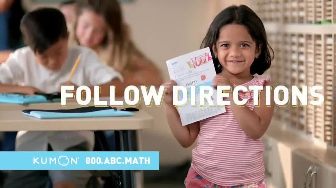 Kumon TV Commercial Ad, More Structured Than Many Preschools.mp4