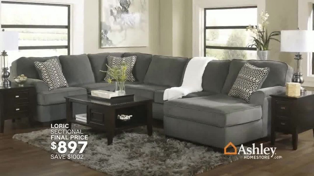 Ashley HomeStore Sale & Clearance Event TV Commercial Ad, Fresh New Looks Song by Midnig
