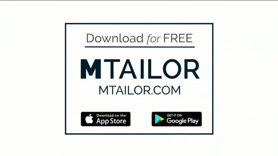 MTailor TV Commercial Ad, Perfectly Fitted T Shirts