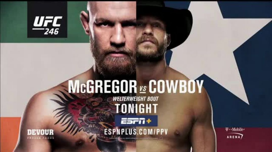 ESPN+ UFC 246 TV Commercial Ad, McGregor vs. Cerrone Song by Valerie Broussard.mp4