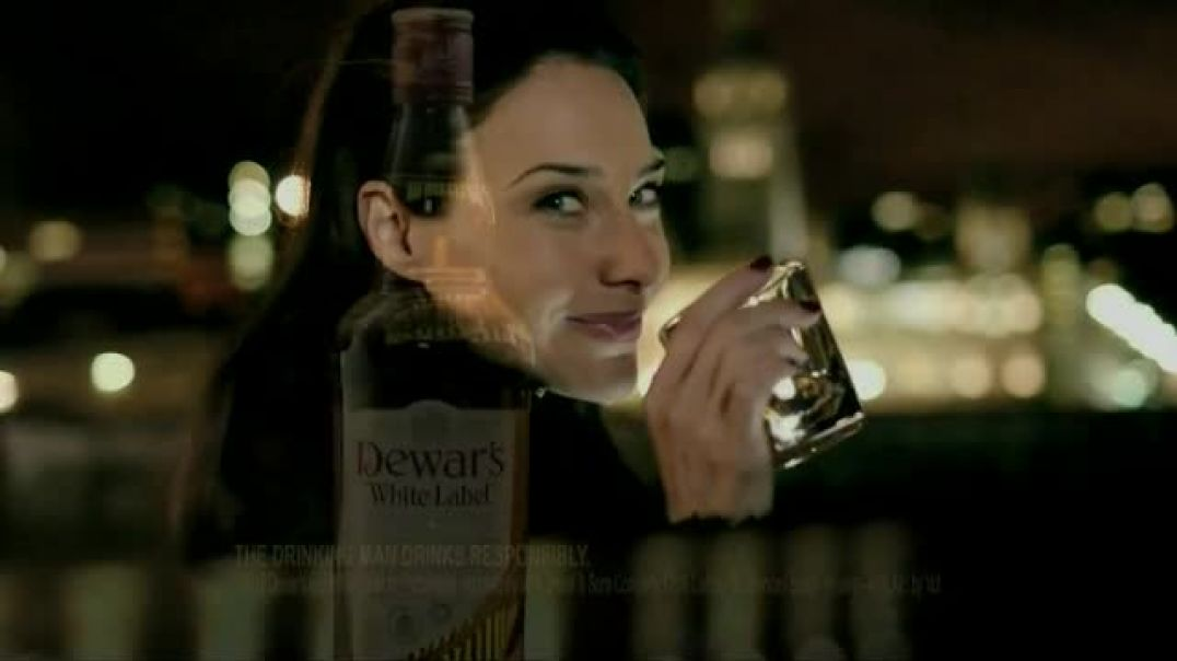 Dewars TV Commercial Ad, Roof Featuring Claire Forlani.mp4