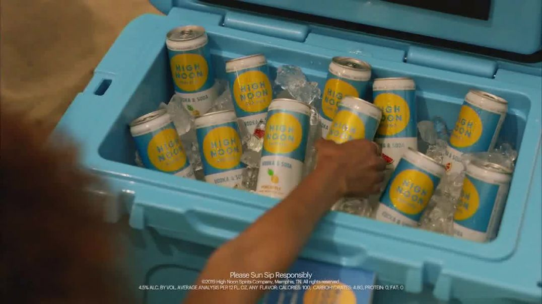 High Noon Spirits TV Commercial Ad, 2019 Real Summer Sweeps.mp4