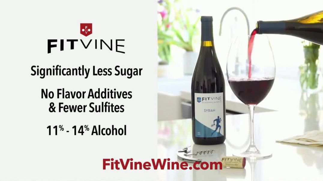 Fit Vine Wine TV Commercial Ad, You Make Smart Choices.mp4