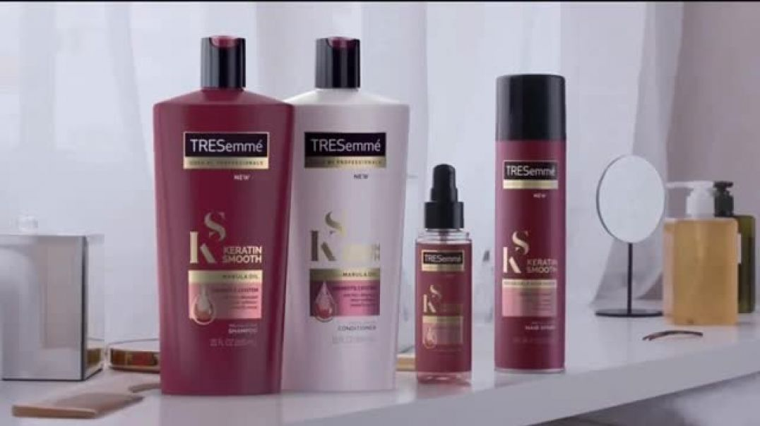 TRESemmé Keratin Smooth TV Commercial Ad, Work It.mp4