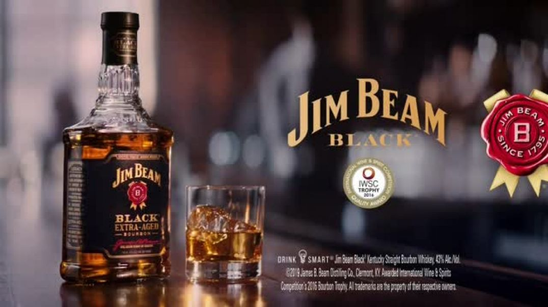 Jim Beam Black TV Commercial Ad, Better Friends.mp4