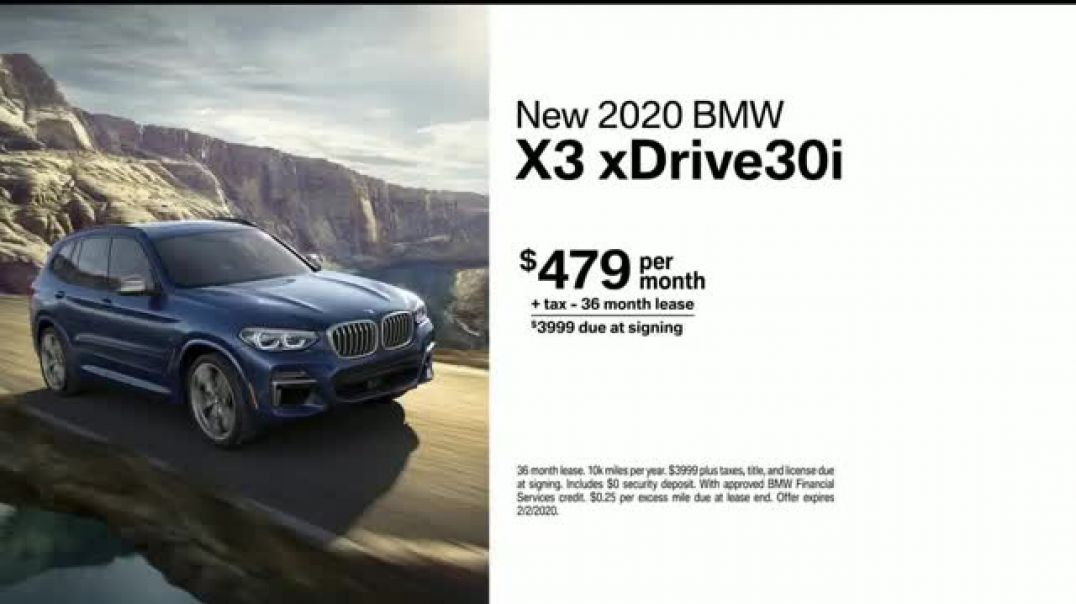 2019 BMW X3 TV Commercial Ad, Unexplainable.mp4