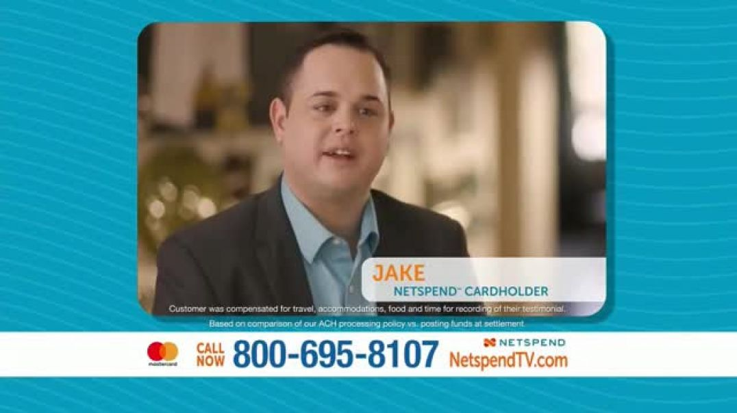 NetSpend Prepaid Mastercard TV Commercial Ad, Payday Comes Faster.mp4