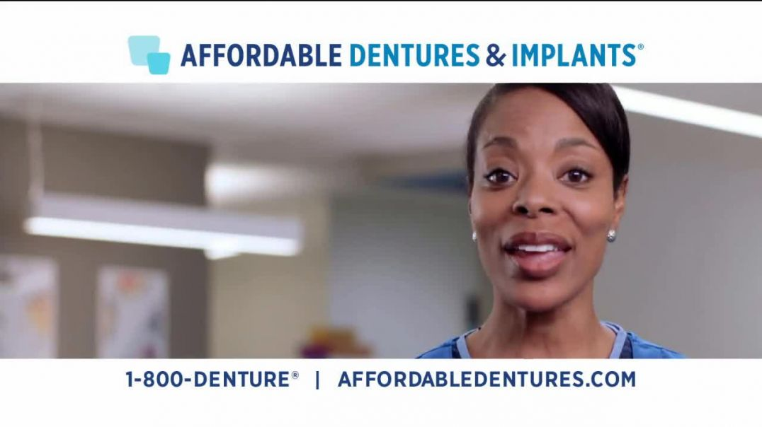 Affordable Dentures TV Commercial Ad, Get Your Smile Back 10 Percent.mp4