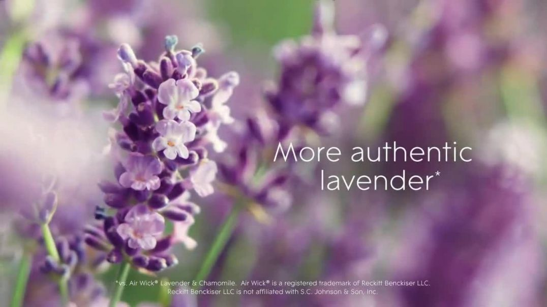 Glade PlugIns Scented Oil TV Commercial Ad, Tranquil Lavender & Aloe.mp4