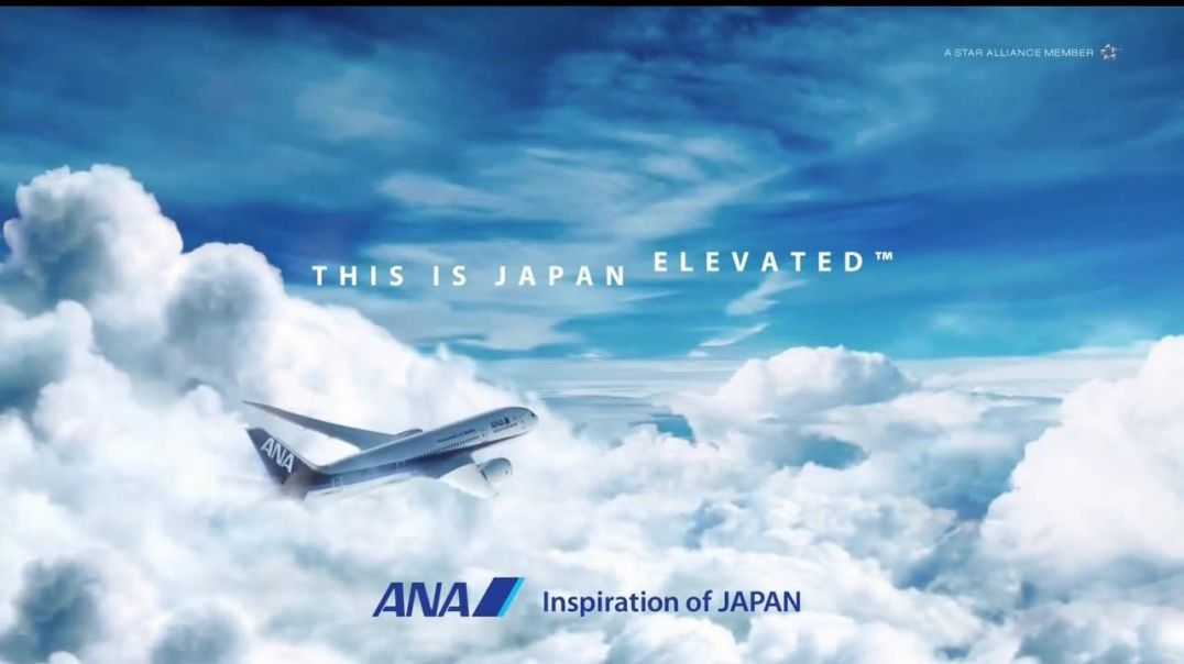 All Nippon Airways TV Commercial Ad, Japan Elevated Entertainment.mp4