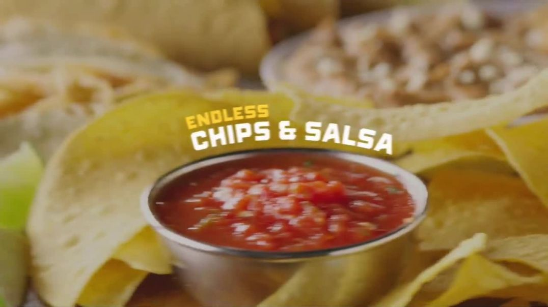 On The Border Mexican Grill and Cantina Endless Tacos TV Commercial Ad, Bold, Crunchy and Cheesy.mp4