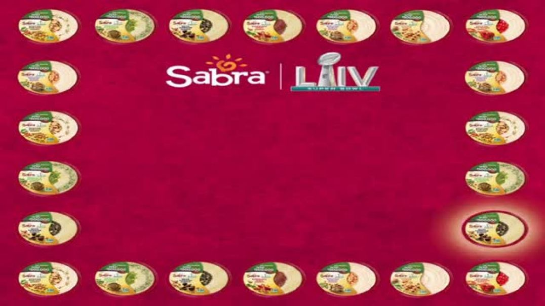 Sabra Super Bowl 2020 Teaser TV Commercial Ad, Dip, Watch, Win Ridipulous Supply of Hummus