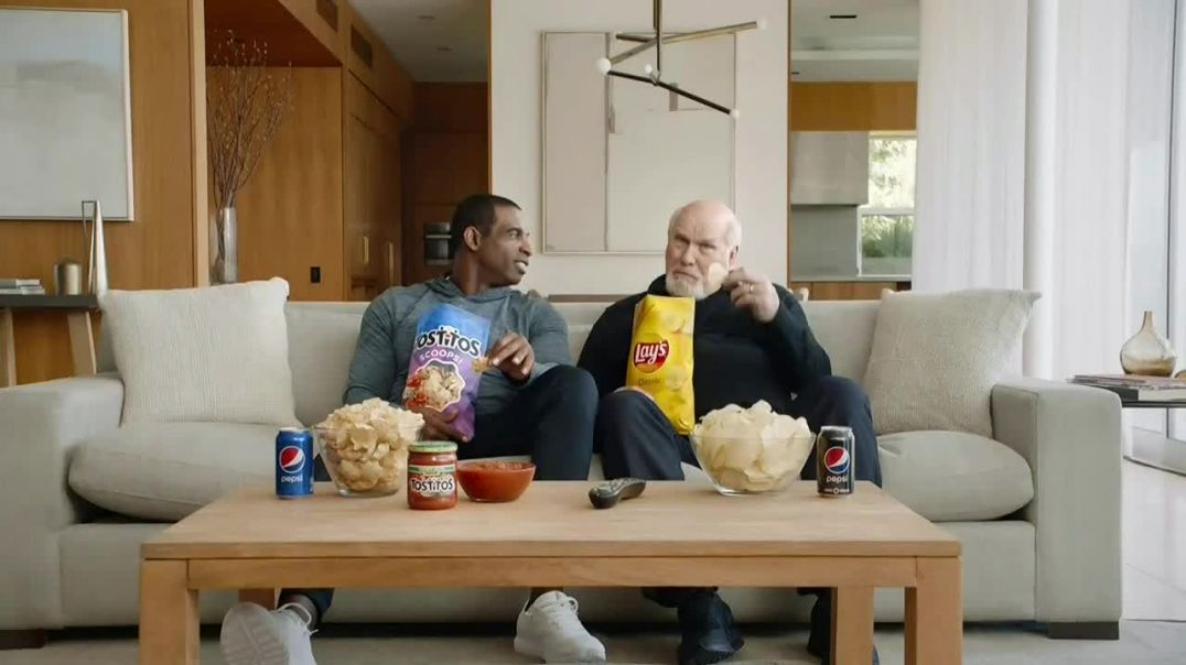 Frito Lay TV Commercial Ad, Super Bowl! Featuring Deion Sanders, Terry Bradshaw.mp4