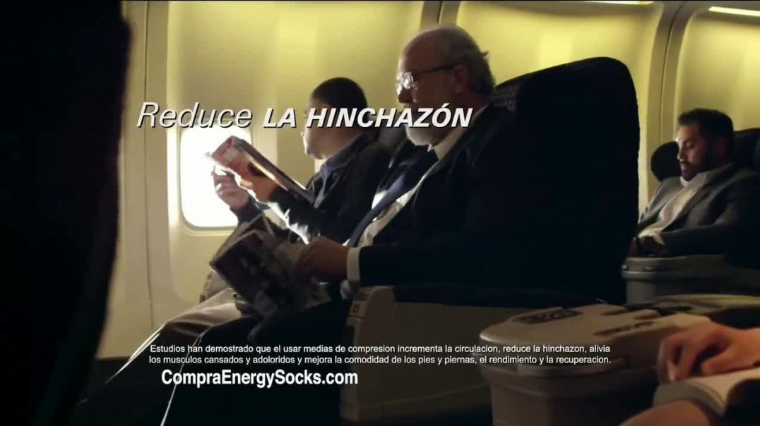 Copper Fit Energy Socks TV Commercial Ad, Rediseñadas.mp4