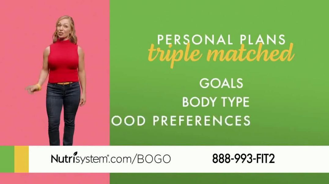 Nutrisystem Personal Plans TV Commercial Ad, Different is Good Featuring Marie Osmond.mp4