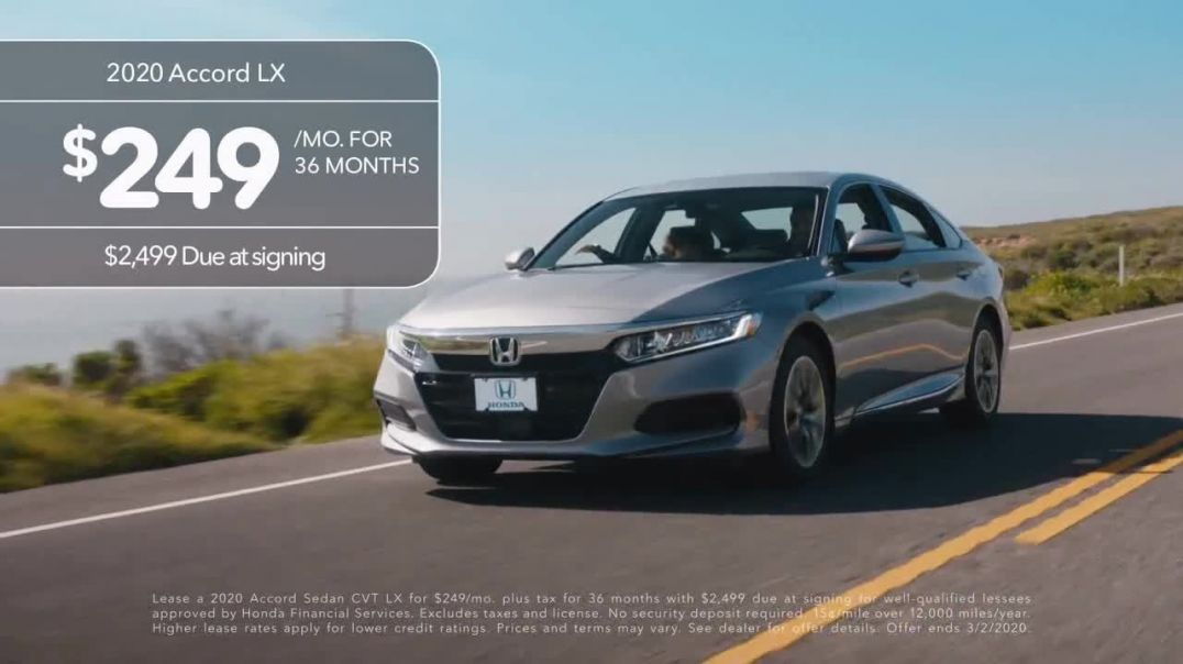 2020 Honda Accord TV Commercial Ad, Father and Son.mp4