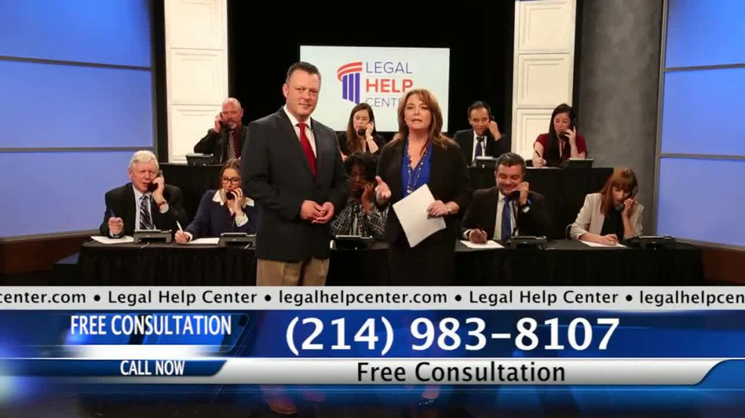 Legal Help Center TV Commercial Ad, Injured in an Accident