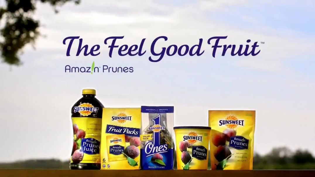 Sunsweet Amaz!n Prunes TV Commercial Ad, Inside Out, Feeling Good.mp4