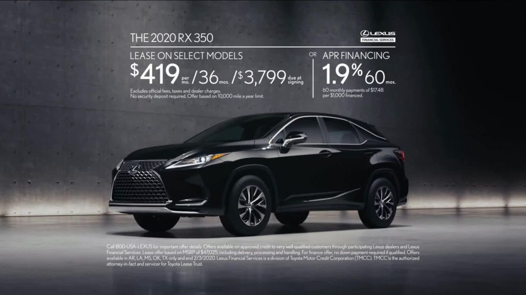 Lexus RX TV Commercial Ad, Fearless Leader.mp4