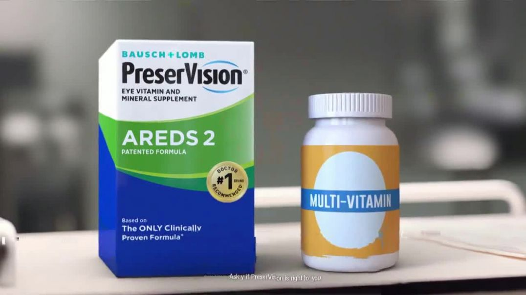 PreserVision AREDS 2 TV Commercial Ad, Vision Loss.mp4