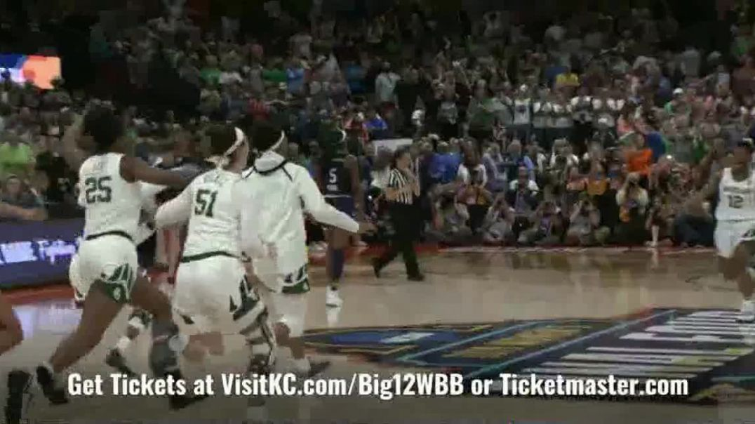 Big 12 Conference TV Commercial Ad, Womens College Basketball XII Championship 2020 Kansas City.mp4