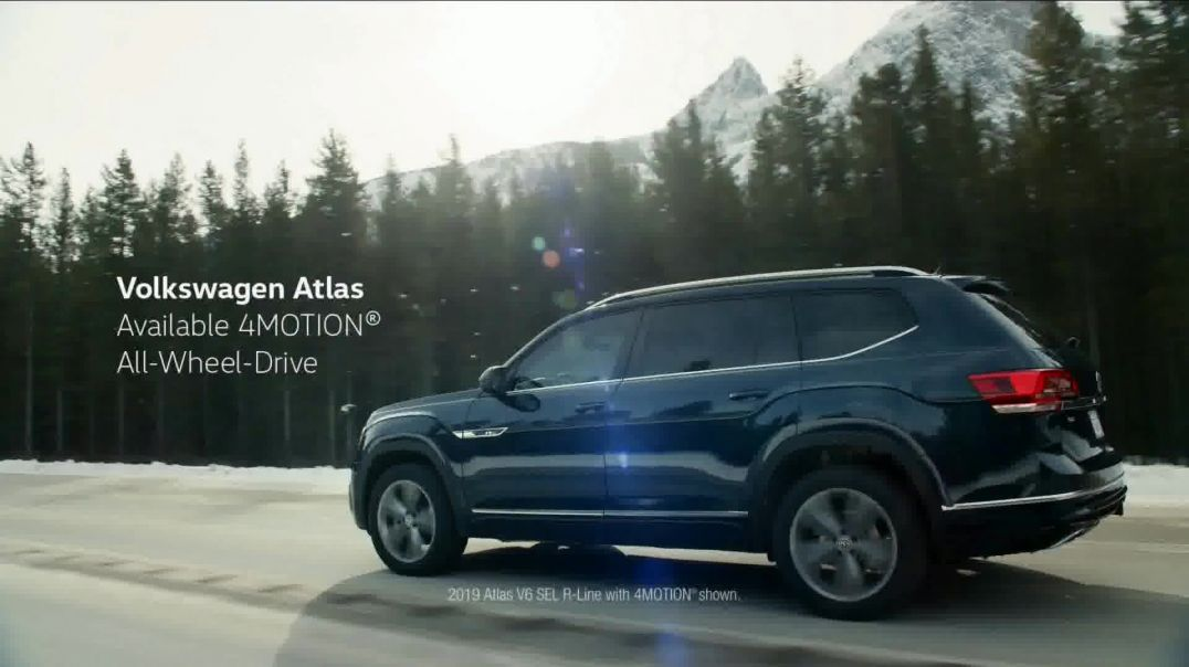 2019 Volkswagen Atlas TV Commercial Ad, Road Conditions.mp4