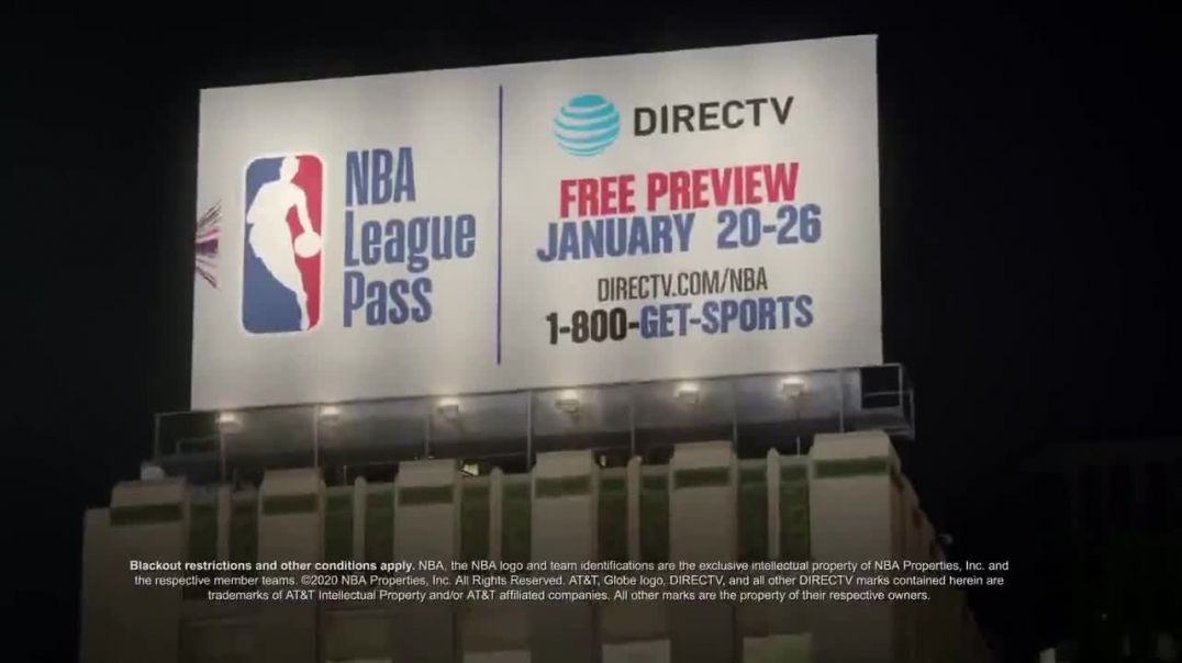 NBA League Pass TV Commercial Ad, Shout It DIRECTV Free Preview Song by VideoHelper.mp4