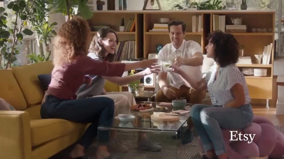 Etsy TV Commercial Ad, No One Like You Bedding, Jacket, Ottoman and More.mp4