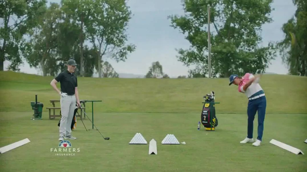 Farmers Insurance TV Commercial Ad, Hall of Claims Denting Range Featuring Rickie Fowler.mp4