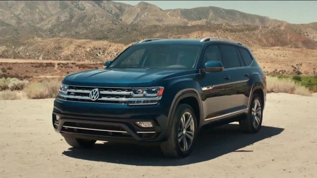 2019 Volkswagen Atlas TV Commercial Ad, Eleven Steps.mp4