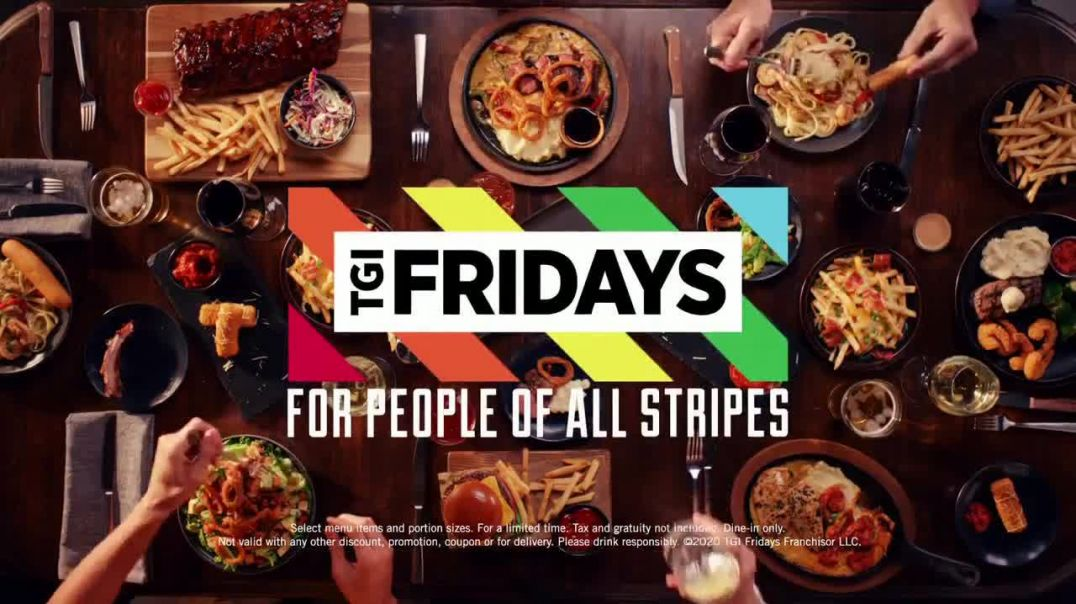 TGI Fridays $20 Feast TV Commercial Ad, Come in Now to Feast.mp4